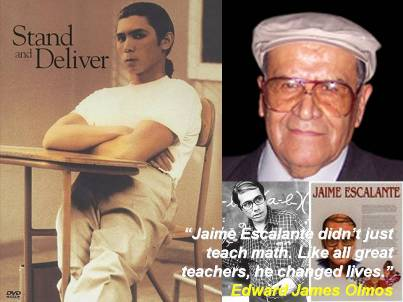 Jaime Escalante Inspired Optimism to Change Young Lives