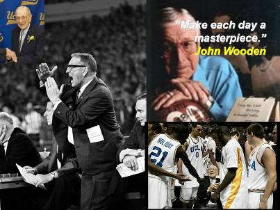 UCLA's John Wooden Leaves a Legacy of Love and Faith