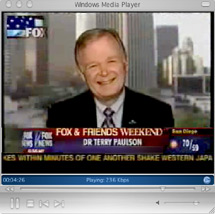 Professional Speaker Dr Terry Paulson on Fox News